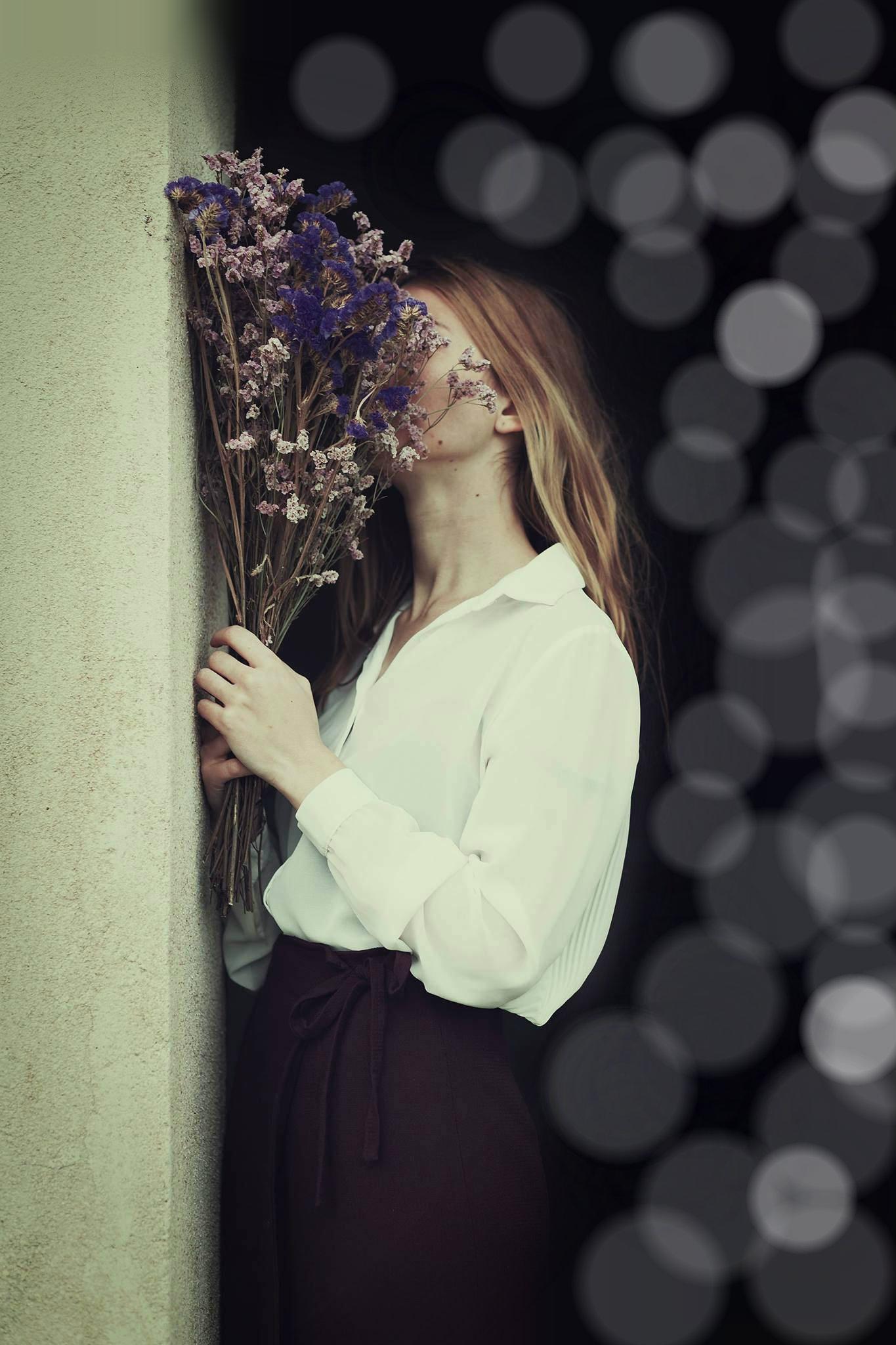 фото цветами расписные и стены