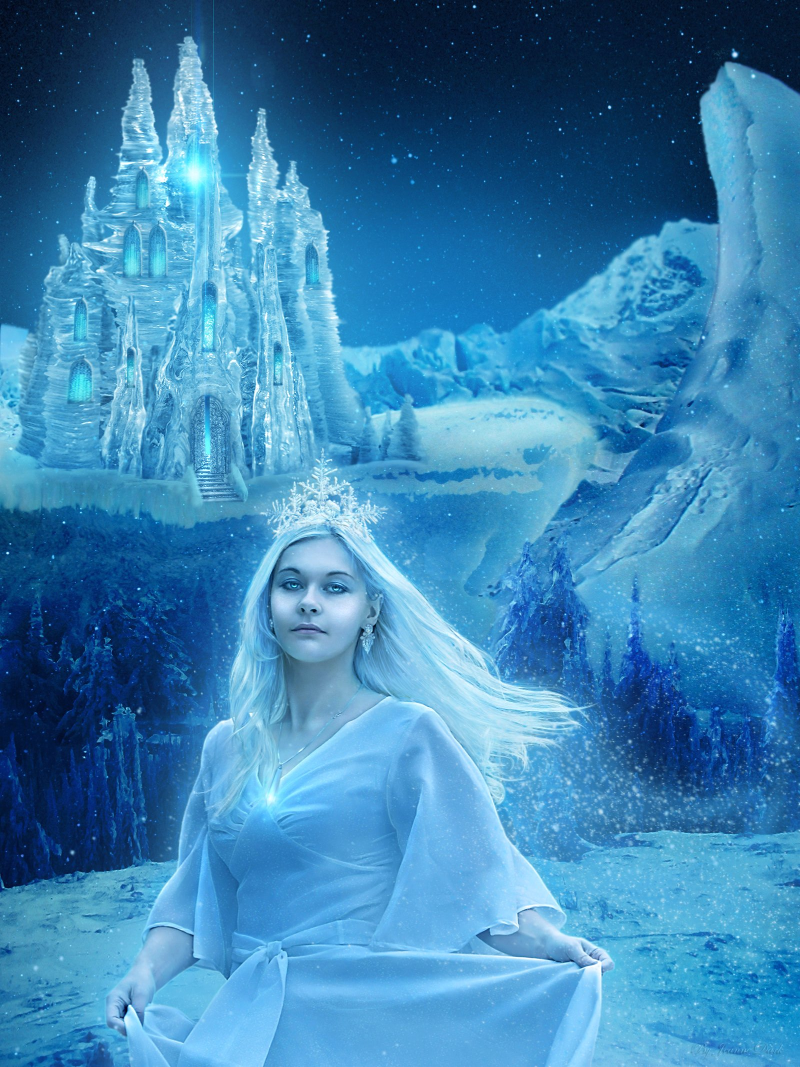 только картинки снежной королевы