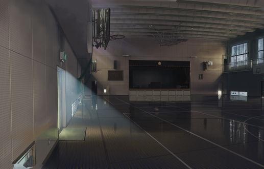 Фото Спортивный зал, art by Isai Shizuka
