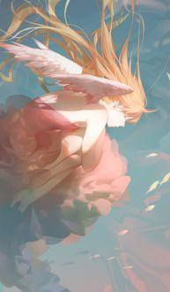 Фото Девушка-ангел под водой, by ASK