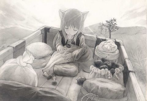 ���� Horo / ����, �� ����� Spice and Wolf / ������� � ��������, ������� ����������