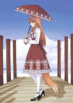���� Horo / ���� � �������� ����� �� �����, �� ����� Spice and Wolf / ������� � ��������