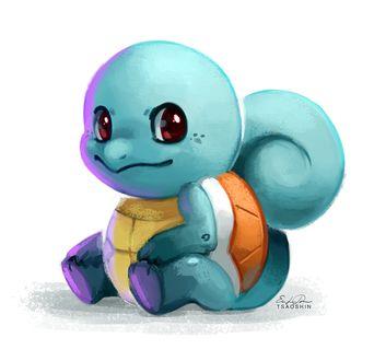 ���� Squirtle / ������� �� ���� Pokemon / �������, by TsaoShin