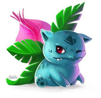 ���� Ivysaur / ������� �� ���� Pokemon / �������, by TsaoShin