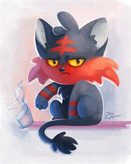 ���� Litten / ������ �� ���� Pokemon / �������, by TsaoShin