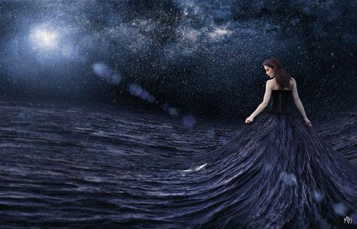 Фото Девушка как часть океана, by MBHenriksen