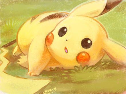 Фото Pikachu / Пикачу из аниме Pokemon / Покемон, by KoriArredondo