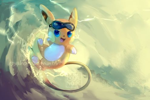 ���� Raichu / ����� �� ���� Pokemon / �������, by RoyalNoir