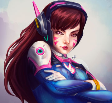 ���� D. VA / ����� ��� �� ���� Overwatch / �����, by liark2z