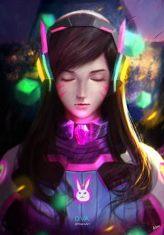 ���� D. VA / ����� ��� �� ���� Overwatch / �����, by FitaroArt