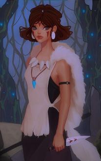 ���� Princess Mononoke / ��������� ��������, by Tricia Loren