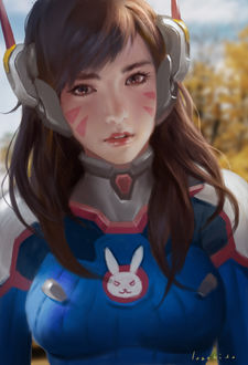 ���� D. VA / ����� ��� �� ���� Overwatch / �����, by LASAHIDO