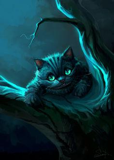 Фото Cheshire Cat / Чеширский Кот из сказки Alice in Wonderland / Алиса в стране чудес, by SalamanDra-S