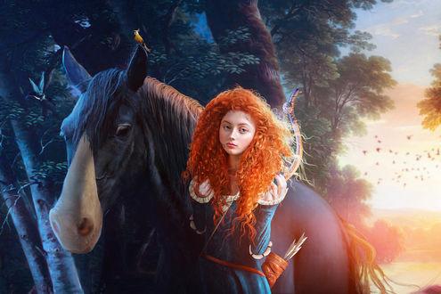 ���� ��������� ������ / Merida �� ����������� ������� ������� / Brave, by JoeDiamondD