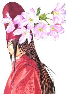 ���� Fujiwara no Sai � ����� ������ �� ����� Hikaru no Go, art by Takeshi Obata