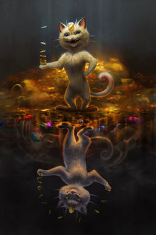 ���� ���� / Meowth �� ���� ������� / Pokemon, by TamberElla