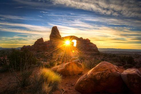 ���� Arches National Park, Moab, Utah / ������������ ���� ����, ����, ���, by Ali Erturk