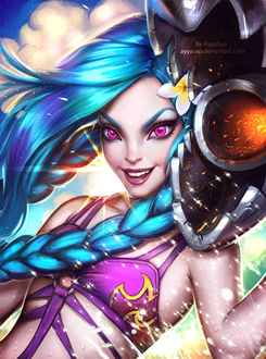 ���� Jinx / ������ �� ���� League of Legends / ���� ������, by AyyaSap