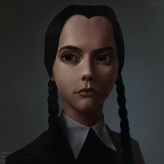 ���� ������ ������ / Wednesday Addams �� ������ Addams Family / ������� ������, by UjinShamoney