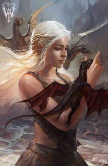 Фото Дейнерис Таргариен / Daenerys Targaryen из сериала Игра Престолов / Game Of Trones