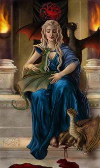 Фото Дейнерис Таргариен / Daenerys Targaryen из сериала Игра Престолов / Game Of Trones, by TottieWoodstock
