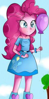 Фото Пинки Пай / Pinkie Pie из мультсериала Мои маленькие пони: Дружба — это чудо / My Little Pony: Friendship is Magic