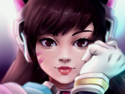 ���� D. VA / ����� ��� �� ���� Overwatch / �����, by Teaserd