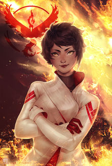 ���� Candela / ������� �� ���� Pokemon GO, art by myetie