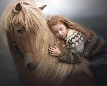 Фото Девочка на лошади, фотограф Elena Shumilova