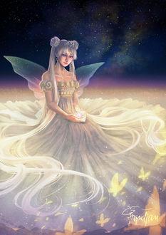 Фото Queen Serenity / Королева Серенити / Tsukino Usagi / Цукино Усаги из аниме Красавица-воин Сейлор Мун / Bishoujo Senshi Sailor Moon, by IngridTan