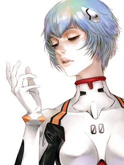 ���� Ayanami Rei / ��� ������ �� ����� Evangelion / ���������� ������ ���� ����� �����, by Kyoung Hwan Kim