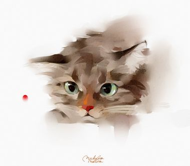�������� ������� �� ����� ����, art by Marina Michkina