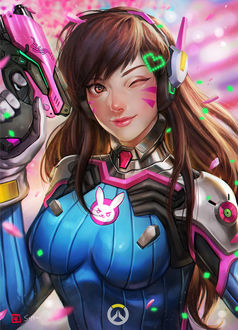 ���� D. VA / ����� ��� �� ���� Overwatch / �����, by manusia-no-31
