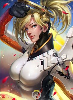 ���� Mercy / ����� / ������ ������ �� ���� Overwatch / �����, by manusia-no-31