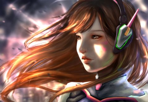 ���� D. VA / ����� ��� �� ���� Overwatch / �����, by b1tterRabbit