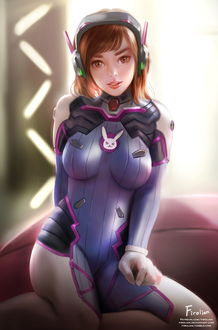 ���� D. VA / ����� ��� �� ���� Overwatch / �����, by Firolian