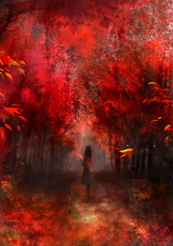 Картинка осень в парке