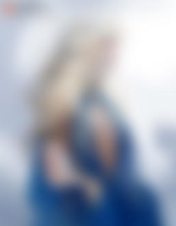 Фото Daenerys / Дейенерис в голубом платье, by Claparo-Sans