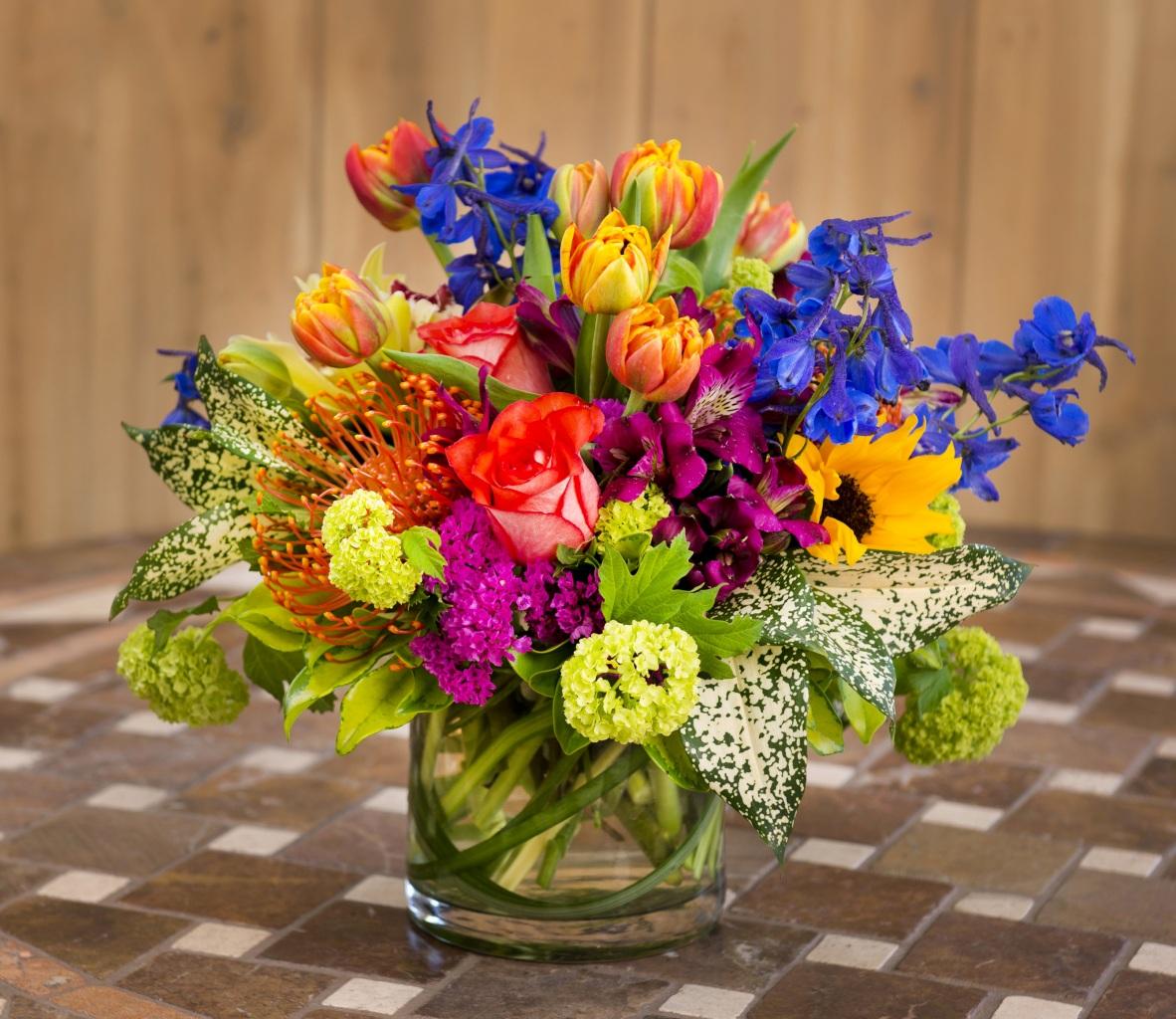 этого букеты цветов из разных цветов фото вам видно