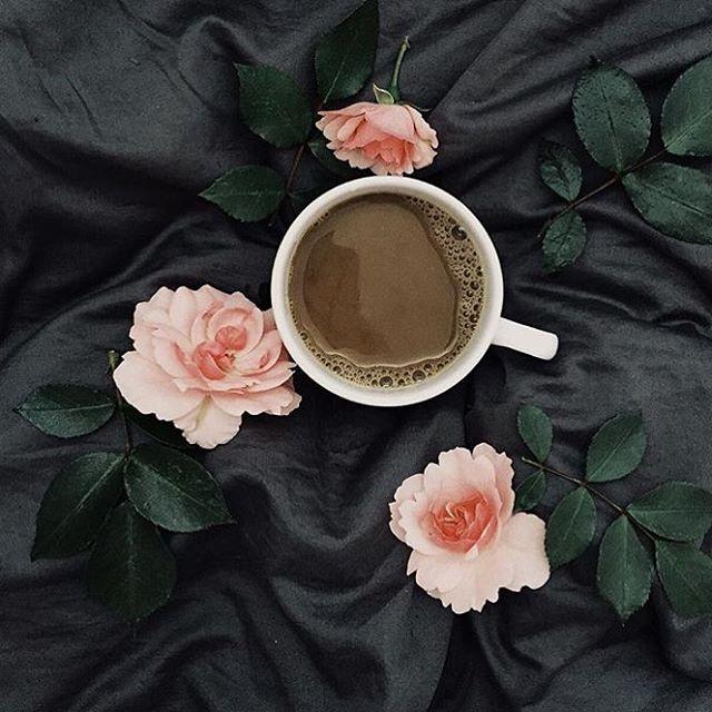 кофе с молоком картинки красивые и с розами обои для рабочего