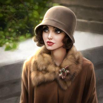 ���� ������������ �������, �������� � ���������, ����������, ����� ������ ���� ��� ��������� ����� / Angelina Jolie, by daekazu