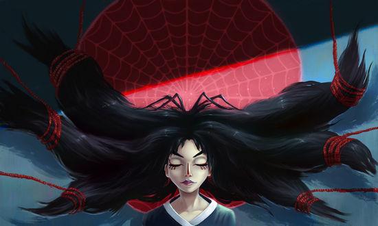 Фото Девушка в образе паука, by Naphanyah