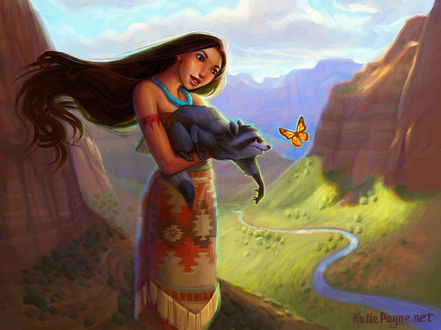 ���� ���������� / Pocahontas � ���� �� ����������� Pocahontas / ����������, by Onekatie