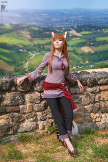 ���� ������� ���� / Horo �� ����� ������� � �������� / Spice and Wolf, by Ryoko-demon