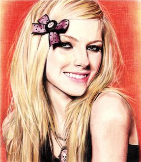 ���� ����� ����� / Avril Lavigne, by ctMunirah