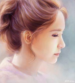 ���� �� ��� / Im Yoon Ah (��� / YoonA) ������������� ������, ������� � ������, Art by DF G