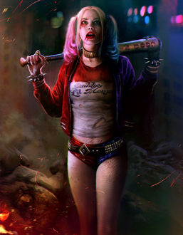 ���� Harley Quinn / ����� ����� �� ������ ����� ��������� / Suicide Squad � �����, by mehdic