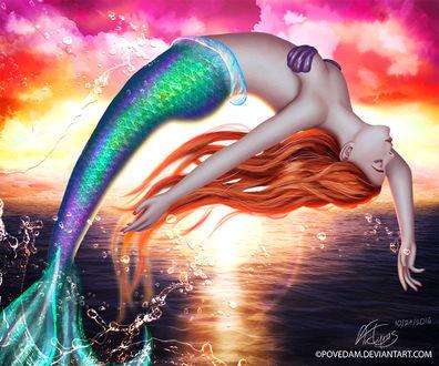 Фото Принцесса Ариель / Ariel из мультфильма Русалочка / The Little Mermaid, by PovedaM