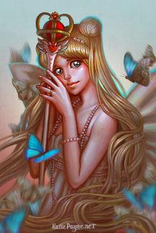 ���� ����� ������ / Usagi Tsukino / ������ ��� / Sailor Moon / ��������� �������� / Princess Serenity �� ����� ���������� ����������� ������ ���, by Onekatie