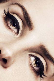 Фото Глаза известной певицы Lana Del Rey / Ланы Дель Рей